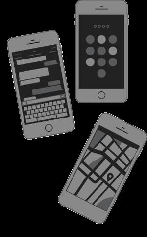 Website design for mobile phones